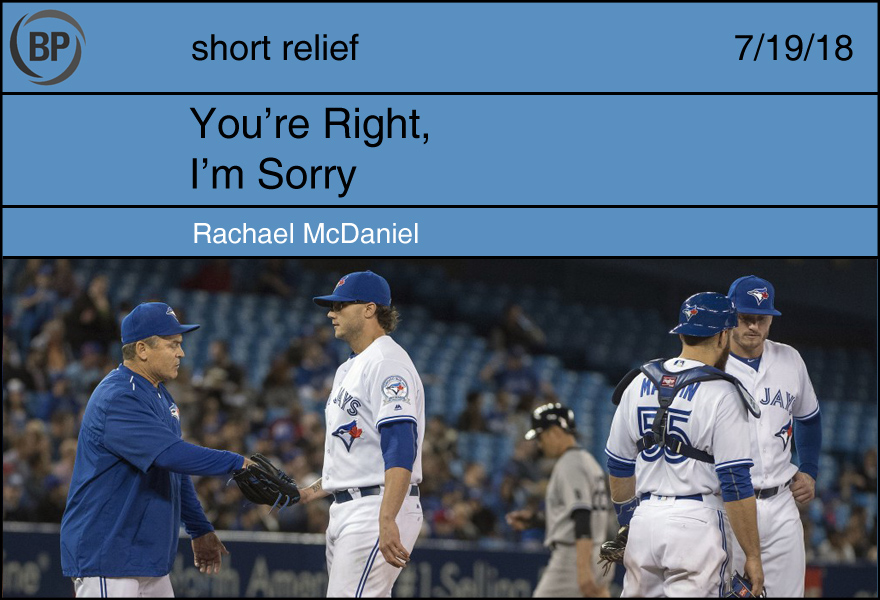 Short Relief: Telling Tales & Keeping Quiet - Baseball