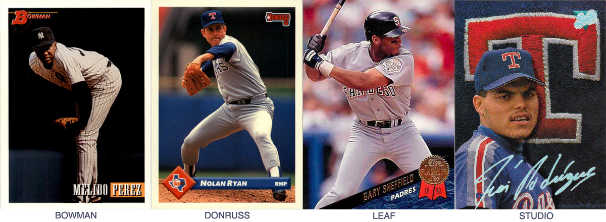 Long Relief Ranking The 1993 Baseball Card Designs
