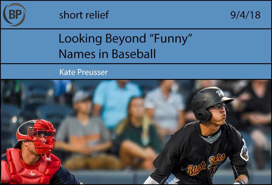 Short Relief: What's in a Name? - Baseball