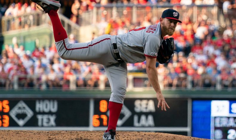 Rubbing Mud: Strasburg's Hook and Sinker Lines