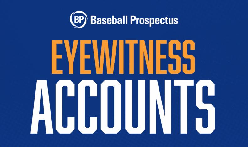 Eyewitness Accounts: Daniel Lynch & Brandon Marsh Show Major League Tools