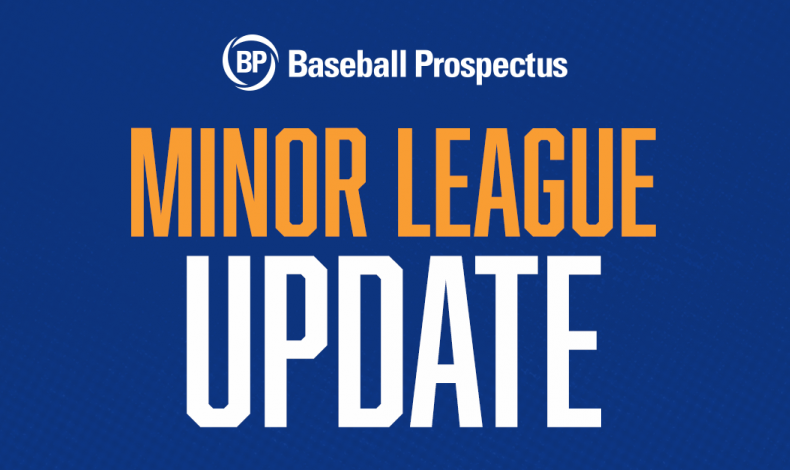 Minor League Update: Legends of the Fall