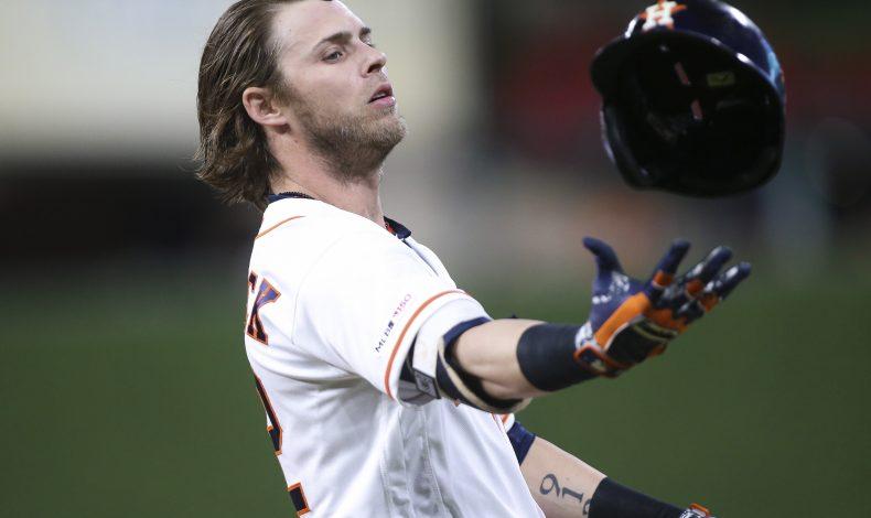 Astros Win ALDS, Josh Reddick Fights Batting Helmet