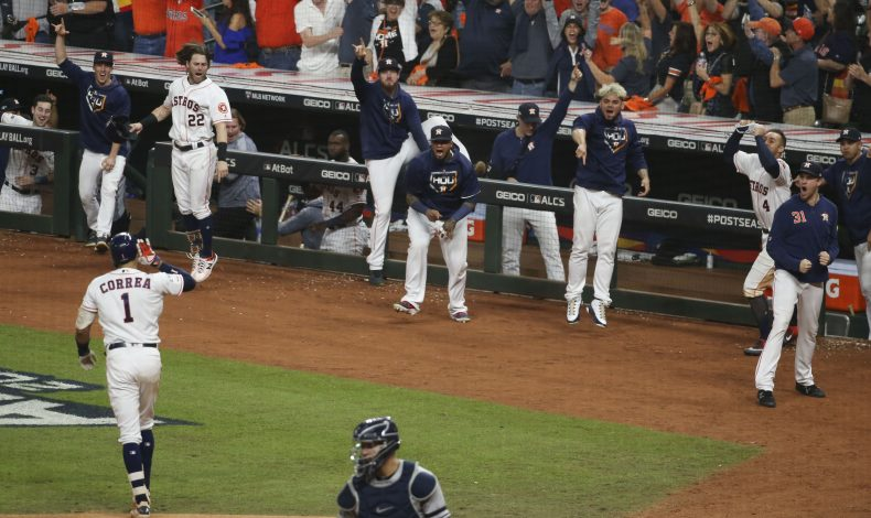 Astros Win Arms Race To Even Series