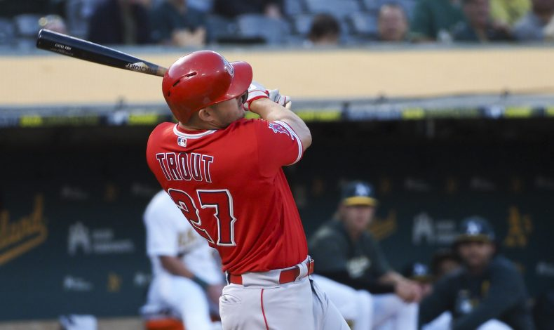 Flu-Like Symptoms: Mike Trout Turned Every Pitcher He Faced Into Dan Straily