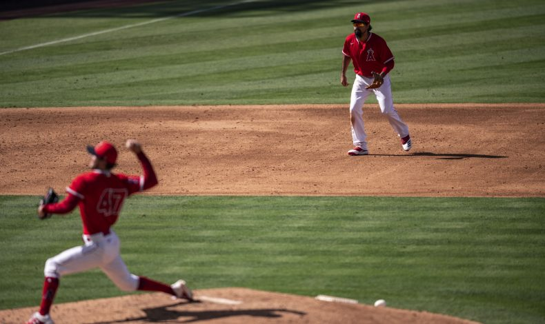 Rubbing Mud: Angels in the Infield