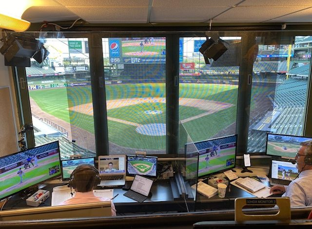 At Home On The Road: Broadcasters Face Unique Challenge This Season